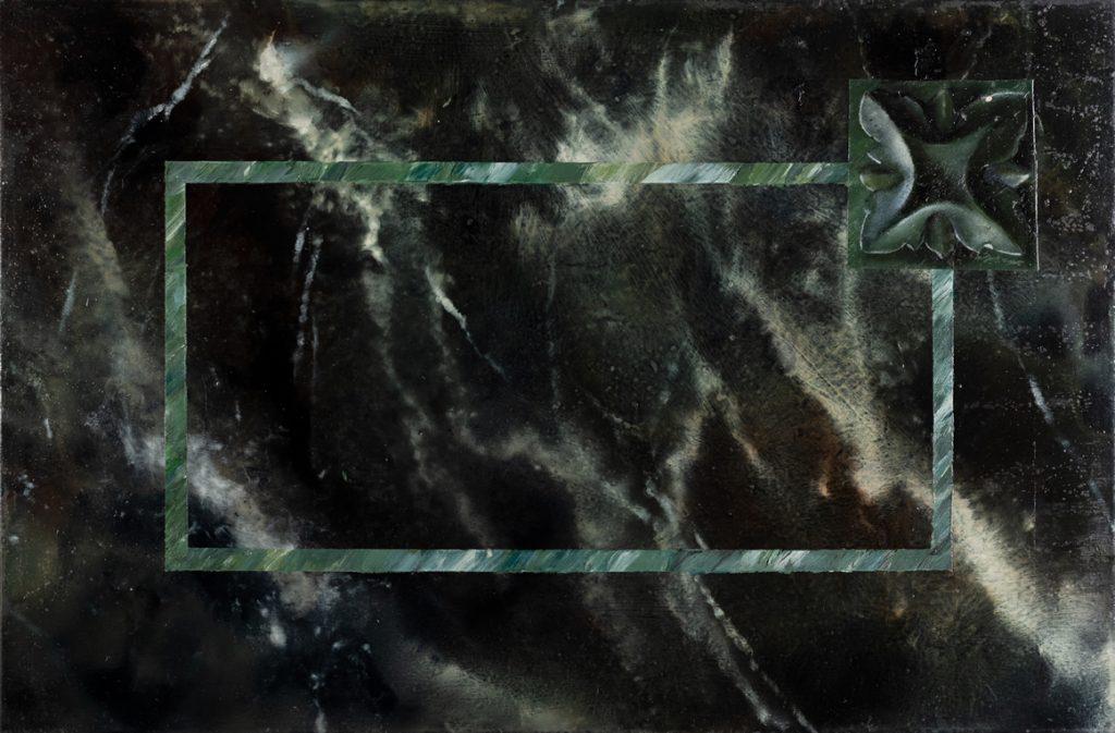 Green sea marble