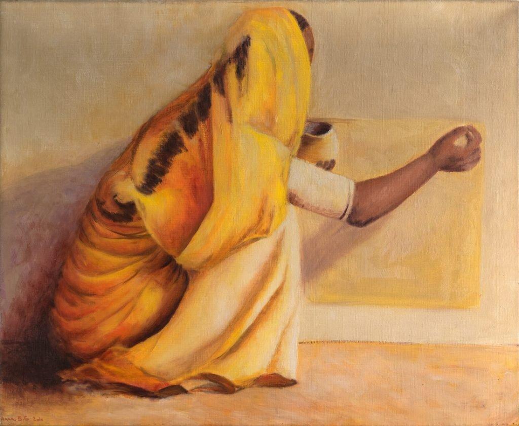 Inde - H 50 x 61 cm